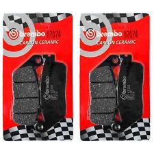 N2 Coppie Pastiglie Freno Brembo Anteriori per HONDA CB 600 F HORNET 2000>2006
