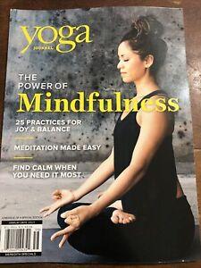 Yoga Journal Magazine Power of Mindfulness Special Reissue 2020 BRAND NEW