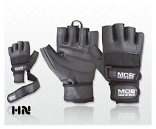 Womens Long Strap Gym Gloves Wrist Support Fitness Exercise Training Calisthenic