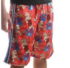 Nwt Flow Society Slinky Dog Shorts Lacrosse Youth Small $35 10-12