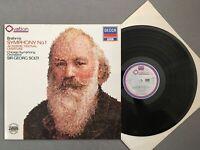 O265 Brahms Symphony No.1 Solti DECCA 6.43406 OG Digital Stereo