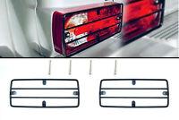2x Rear Tail Light Guard Grills for Mercedes W463 W461 G Class Professional BK