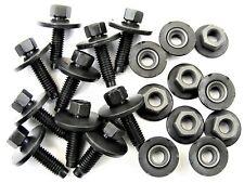 Honda Body Bolts & Barbed Nuts- M6-1.0mm Thread- 22mm Long- Qty.10 ea.- #396