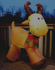 5' Airblown Inflatable Lighted Christmas REINDEER Indoor and Outdoor