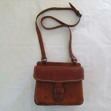 Vintage de Cuero Bolso de hombro