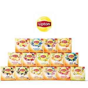 Lipton Infusion Tea Bags - Choose your flavour - Try Pack or Box with 20 bags