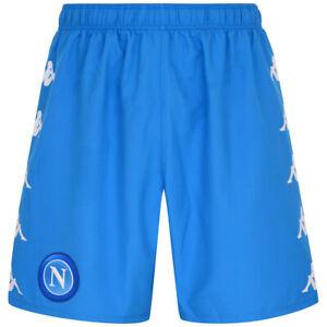 Pantalones Cortos Napoli Ssc Hombre Fútbol Original Azul Corto Kombat 2020/2021