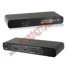 HDMI 2 PORTE V1.3 1080p SPLITTER FULL HD TV SDOPPIATORE TELEVISORE MONITOR INPUT