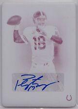 Autograph Panini Peyton Manning Original Football Cards