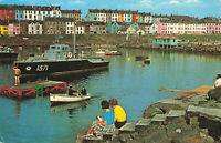 Rare Vintage Postcard - Portrush, Co. Antrim - Northern Ireland (July 1977).