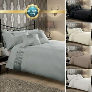 Luxury Quality Caprice Duvet Cover Set With Pillowcases Quilt Cover Soft Bed set