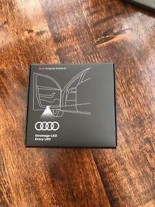 Genuine Audi Led Rings Logo Door / Puddle Lights .... Part number 4G0.052.133G