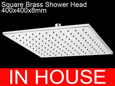 WELS 400x400mm Square Brass Shower Head