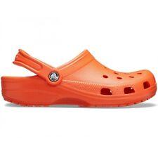 Crocs CLASSIC 10001 Unisex Comfortable Croslite Outdoor Clogs Tangerine