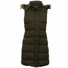 Winter Popper Coats & Jackets Gilet for Women