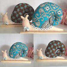 Snail.Handmade Doll.Home Decor .Art Snail .christening gift! birthday gift