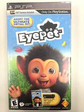 EyePet: Your Virtual Pet  (PlayStation Portable, 2010) PSP CAMERA INCLUDED