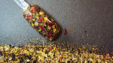 glitter mix acrylic gel nail art  crafts    MOON BEE