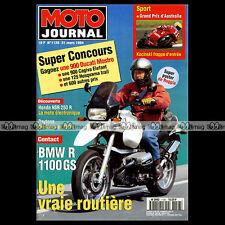 MOTO JOURNAL N°1128 KAWASAKI 350 A7 AVENGER SS HONDA NSR 250 R BMW R 1100 GS '94