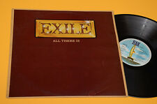 EXILE LP ALL THERE IS ORIG UK 1979 EX
