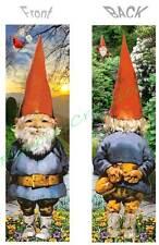 My FUN GARDEN GNOME BOOKMARK Mystical ART BOOK MARK Figurine CARD Ornament