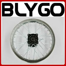 "SILVER 90/100 - 14"" Inch Alloy Rear Back Wheel Rim PIT Trail Bigfoot Dirt Bike"