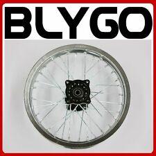 "SILVER 90/100 - 14"" Inch Alloy Rear Back Wheel Rim PIT Trail Bigfoot Dirt Bike"