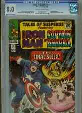 Tales of Suspense #74  (Sleeper app.)  CGC 8.0 OWWP