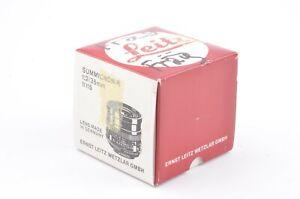 BOX ONLY FOR LEICA LEITZ SUMMICRON-R 35mm F2 #11115 w/FOAM INSERTS