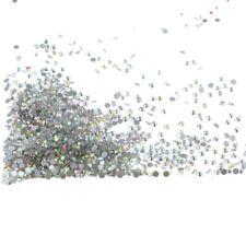 1440Pcs Crystal Rhinestones Nail Art Decoration Round 3D Charm for Banquet