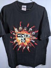WCW NWO Lottery Promo T-shirt SzXL Hogan Hart Nash Hall DDP Sting macho Man vtg