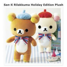 SAN-X RILAKKUMA TEDDY BEAR Holiday Edition Plush French Theme