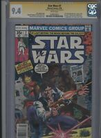 Star Wars #7 CGC 9.4 SS Howard Chaykin NEWSSTAND - 1st expanded universe story