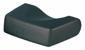 Sunbed Pillow Foam Head Rest for Lie Down Sunbeds BLACK Easy Wipe Surface