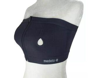 Medela Easy Expression Bustier Medium Pumping Breastfeeding Nursing Support Bra
