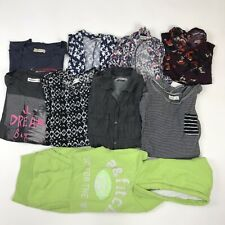 Abercrombie Kids Lot of 9 Cardigans Long and Short Sleeve Shirt Girls Sz L / XL