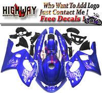 ABS Fairings Fit Yamaha YZF600R Thundercat 1997-2007 Fairing Bodywork Kit Blue W