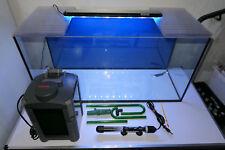 100 L Aquarium komplett Set inkl LED Beleuchtung Filter Heizer u.m.