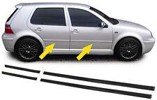 4 BAGUETTES DE PORTES AVANT ET ARRIERE POUR VW GOLF 4