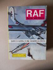 RAF Royal Air Force n°33 1975 fumetto Guerra ediz. Metro   [G760F]