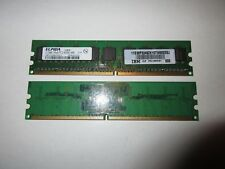 IBM xSeries 100 DDR2-RAM 1GB Kit 2x512MB PC2-4200E ECC 1R - 30R5151