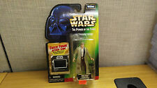 Kenner Star Wars Power of the Force Han Solo in Endor Gear figure, Brand new!
