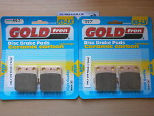 HONDA TRX400 EX5 2005 TRX 400 > (OFF-ROAD) SINTERED FRONT BRAKE PADS *GOLDFREN*