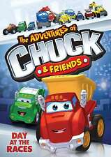 New - THE ADVENTURES OF CHUCK AND FRIENDS: DAY AT THE RACES DVD