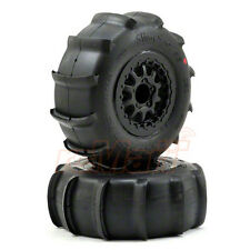 PRO-LINE Sling Shot SC 2.2 / 3.0 Inch Tires Renegade Wheels Black Slash #1158-17