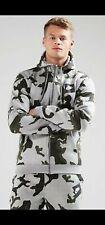 Nike Sportswear Camo Hoodie Zip Jacke Jacket
