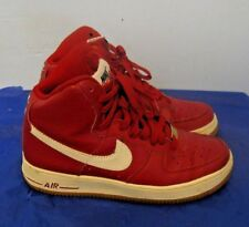 Nike Air Force 1 High Gs Sneakers Gym Red (Youth-6.5Y) 653998-605