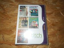 Stitch 2008-2010 Collection All 5 Issues (Cd-Rom, 2011) *Brand New*
