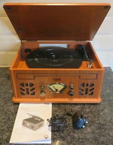 itek i60011 4 In 1 Record Player, Cassette, CD and Radio  With a Problem