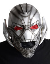 Ultron Deluxe Overhead Latex Mask, Mens Avengers Age Of Ultron Costume Accessory